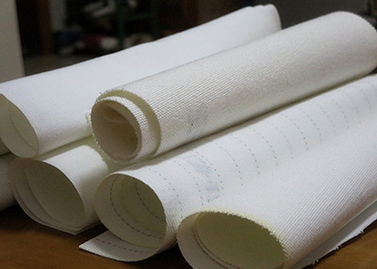 Regeneration efficiency of filter cloth