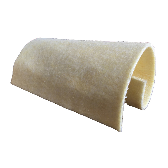 Fiberglass filter cloth factory Glass Fiber Filter Bag For Dust Collector