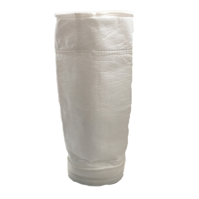 Air Filter Non Woven Fabric For Thermal Power Plant, PPS/Aramid and P84 Filter Bag / Dust Collector Filter Bag